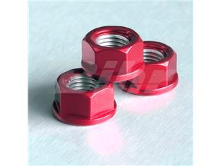 Tuerca de Aluminio Pro-Bolt 10mm rojo LSPN10R
