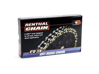 RENTHAL 520 R3-3 Transmission Chain Gold/Black 112-Links - 453923