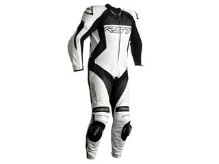 RST Tractech EVO 4 CE Race Suit Leather White Size M Men