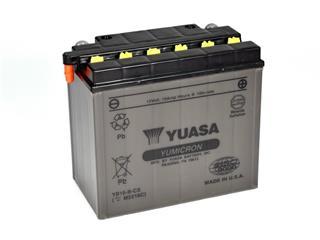 Batterie YUASA YB16-B-CX conventionnelle - 32YB16BCX