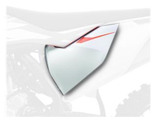 Caches boîte à air POLISPORT blanc KTM SX85 - 785964WH
