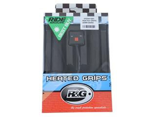 Poignées chauffantes R&G RACING interrupteur guidon 22mm Clip-on - b1696719-da87-46cc-8e14-c433bb7809a9