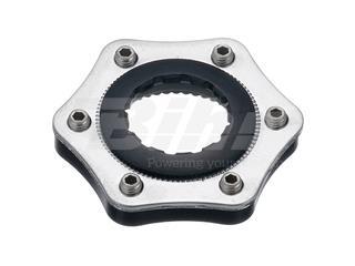 Conversor disco universal a center lock con arandela de cierre y espaciador color negro