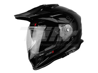 Casco Just1 J34 Adventure negro brillo
