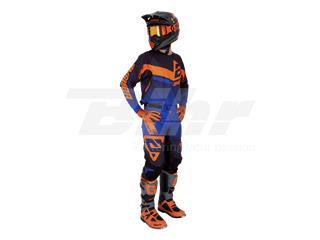 Pantalón ANSWER Trinity Negro/Azul Oscuro/Naranja Flúor Talla 36 (XL) - b1defc30-6655-45d1-8868-ca6ba0d8d0f4