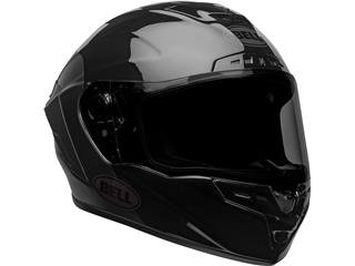 BELL Star DLX Mips Helm Lux Checkers Matte/Gloss Black/Root Beer Maat M - b2342329-789f-4c47-9d03-383404c5f2a5
