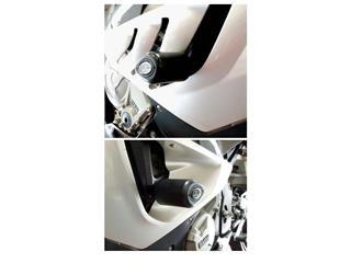 Tampons de protection R&G RACING Aero noir BMW S1000RR