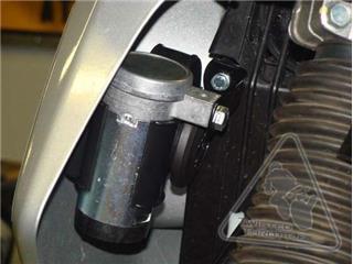 Support klaxon DENALI SoundBomb Kawasaki KLR650