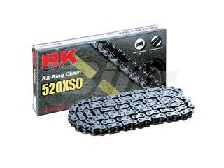 Cadena RK 520XSO con 108 eslabones negro