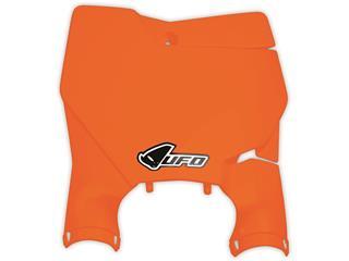 Plaque numéro frontale UFO Stadium orange fluo KTM - 78621754