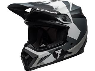 BELL MX-9 MIPS Helmet Seven Battleship Matte Black/Grey Size XXXL