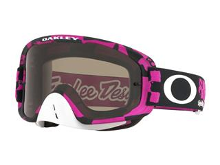 OAKLEY O Frame 2.0 MX Goggle Troy Lee Designs Race Shop Pink Dark Grey Lens - 80400121