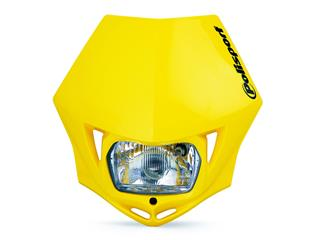 Plaque phare POLISPORT MMX jaune  - PS025Y04
