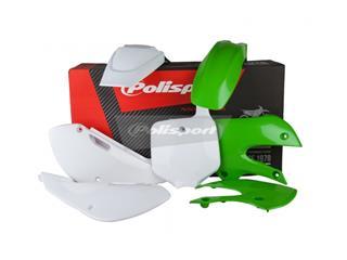 Kit plastique POLISPORT couleur origine (13-14) Kawasaki KX65 - PS511ST132