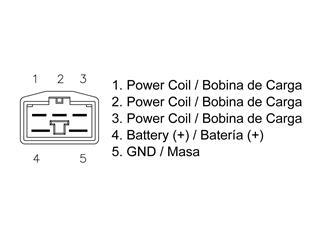 Régulateur TECNIUM type origine Honda - b32766c8-39be-462a-9daf-c079c533dbc4