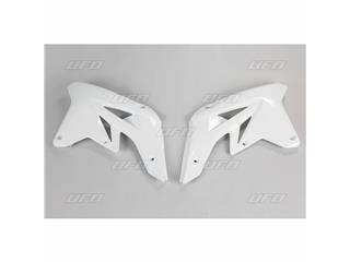 Ouïes de radiateur UFO blanc Suzuki RM-Z250 - 78333910