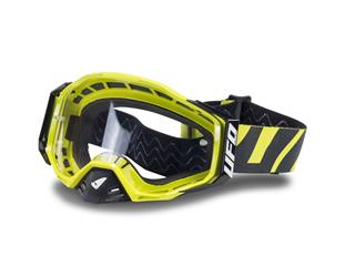 UFO Epsilon Goggle Neon Yellow/Black Clear Lens