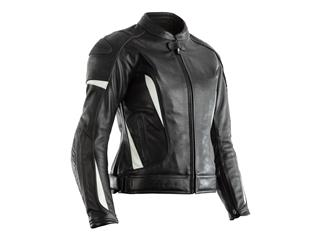 RST GT CE Leather Jacket White Size S Women