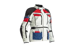 RST Adventure-X  CE Jacket Textile Ice/Blue/Red Size S Women