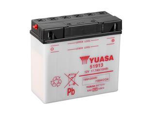Batterie YUASA 51913 conventionnelle - 3251913