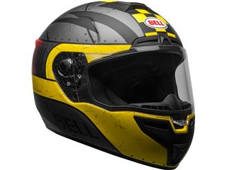 Casque BELL SRT Devil May Care Matte Gray/Yellow/Red taille L - b3e4bef8-5693-40de-a8af-fa7224e675db