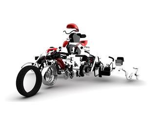 Pièce détachée - Selecteur R&G RACING pour 448111 Honda CBR1000RR - 4450453