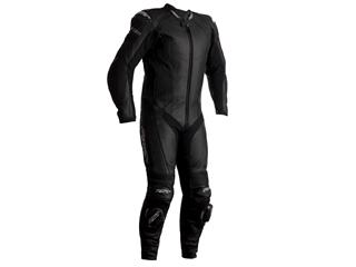 RST R-Sport CE Race Suit Leather Black Size M Men - 816000090169