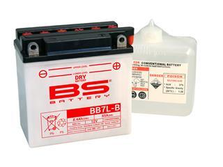 Batterie BS BATTERY BB7L-B haute performance livrée avec pack acide - 321865