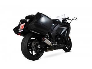 """Escape Scorpion Red Power Slip-On acero inoxidable Kawasaki Z 1000 SX 17-Current  17-19"""