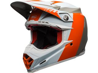 BELL Moto-9 Flex Helmet Division White/Orange/Sand Size XL