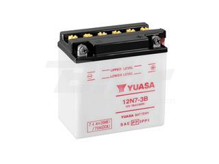 Batería Yuasa 12N7-3B Combipack (con electrolito)