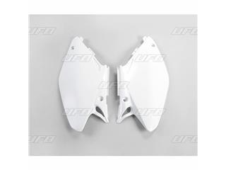 Plaques latérales UFO blanc Honda CR125R/250R - 78165510