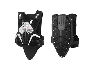 Polisport black Rocksteady Fusion chest protector long version
