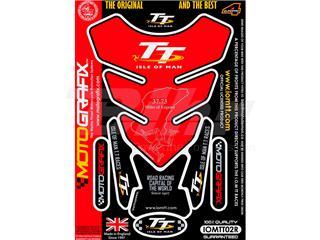 Protector de depósito Motografix Isla de Man TT 1 pieza rojo