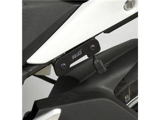 Caches orifices repose-pieds arrière gauche R&G RACING noir Honda CBR250R