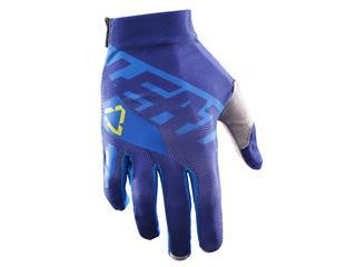 LEATT GPX2.5 X-Flow handschoenen blauw-geel Maat S (EU7 - US8)