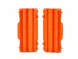 Cache radiateur POLISPORT orange KTM - 784579KT