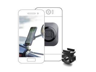 SP-CONNECT Moto Bundle fixed on Mirror Universal