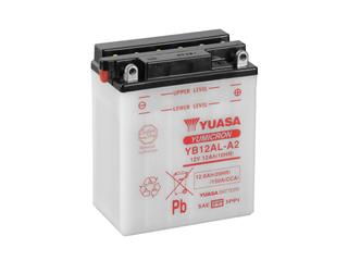 Batterie YUASA YB12AL-A2 conventionnelle - 32YB12ALA2