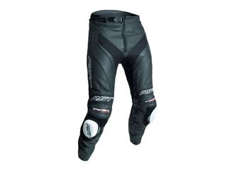 RST Trachtech Evo 3 Short Leg Pants CE Leather Black Size L