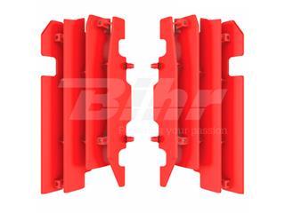 Aletines de radiador Polisport  Honda rojo 8459900002