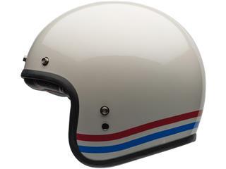 Casque BELL Custom 500 DLX Stripes Pearl White taille L - b681a405-ec1a-41a5-ba79-6662b54ec957