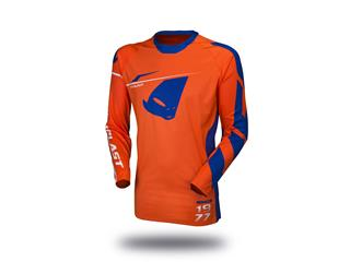Maillot UFO Slim Sharp orange fluo/bleu taille S
