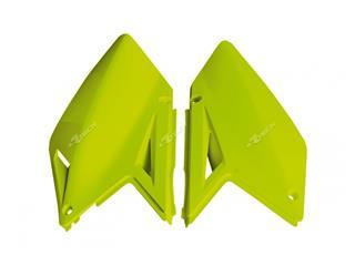 Plaques latérales RACETECH jaune fluo Suzuki RM-Z250 - 7805049