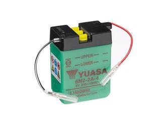 Batterie YUASA 6N2-2A-4 conventionnelle