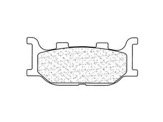 Plaquettes de frein CL BRAKES 3025MSC métal fritté