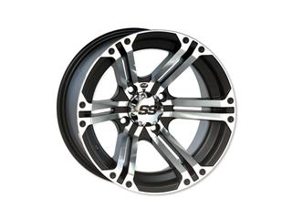 ITP SS212 Utility Rim Aluminum Black 14x6 4x156 4+2