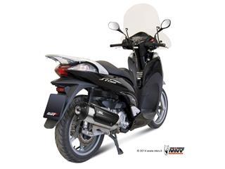 MIVV URBAN Stainless Catalyzed Full Exhaust System Honda SH 300