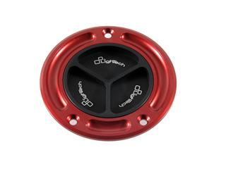 Bouchon de réservoir LIGHTECH noir/rouge à vis GSR750