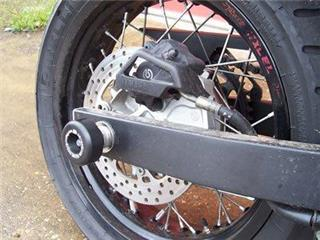 R&G RACING Swingarm Protection Black Yamaha